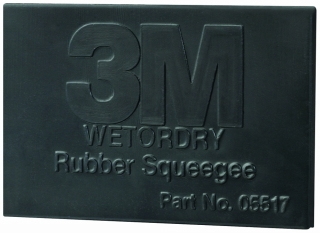 3M - 05518 - Wetordry Rubber Squeegee, 2 in x 3 in
