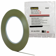3M - 06307 - Scotch Fine Line Tape, 06307, 218 Green, 3/16 in x 60 yd 4.7 mil, Boxed