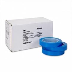 3M - 06409 - Vinyl Tape, 06409, 471+ PN6409, 3/4 in x 36 yd, Boxed, Blue
