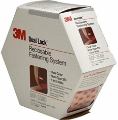 3M - 06463 - Dual Lock Reclosable Fastener System MP3560 Clear