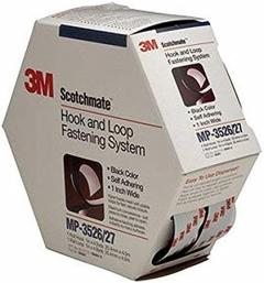 3M - 06481 - Fastener MP3526N/MP3527N Hook and Loop Black