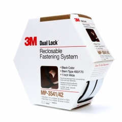 3M - 06483 - Dual Lock Reclosable Fastener System MP3541/MP3542 Black