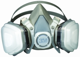 3M - 07193 - Dual Cartridge Respirator Assembly, Organic Vapor/P95, Large