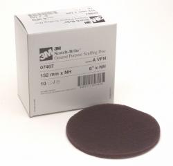 3M - 07467 - Scotch-Brite Scuffing Disc, 6 inch, Very Fine