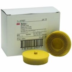 3M - 7527 - Scotch-Brite Roloc Bristle Disc, 3 inch, 80 grit, 07527