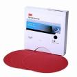 3M - 01103 - Red Abrasive Finishing Film Stikit Disc, 01103, 6 inch, P1200