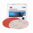 3M - 01220 - Red Abrasive Hookit Disc, 01220, 6 inch, P240