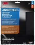 3M - 03021 - Wetordry Sandpaper Sheet, 03021, 9 in x 11 in, Assorted