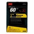 3M - 03068 - Performance Sanding Sponge, 1 inch x 2-5/8 inch, 60 Grit - 60455056865