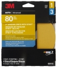3M - 03115 - Adhesive Backed Disc, 6 inch, 80 grit
