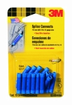 3M - 03884 - Blue Splice Connectors 03884 for 16-14 gauge wire 15/pk - 70071322237