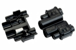 3M - 06107 - Scotchlok Bullet Receptacle Connector 901, 06107, Black, 18-14 AWG, 500 per box - 80601111026