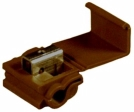 3M - 06120 - Scotchlok Instant Auto-Electric Connector 902, 06120, Brown, 18-10 AWG, 1000 per box - 80601119508
