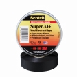 3M - 06133 - Scotch Super 33+ Vinyl Electrical Tape 33+Super-3/4x52FT, 3/4 in x 52 ft (19 mm x 15.6 m), 06133