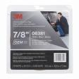3M - 06381 - Automotive Attachment Tape, 06381, White, 7/8 in x 20 yd, 45 mil