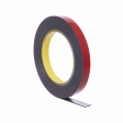 3M - 06387 - Acrylic Plus High-Bond Tape, 06387, Black, 1/4 in x 20 yd