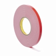 3M - 06394 - Automotive Attachment Tape, Gray, 1/2 in x 10 yd, 90 mil