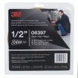 3M - 06397 - Automotive Acrylic Plus Attachment Tape, Black, 1/2 In X 10 Yds, 60 mil