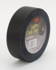 3M - 06843 - Cloth Gaffers Tape 6910 Black, 48 mm x 54.8 m 12.0 mil Bulk - 70006327954