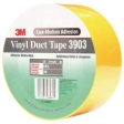 3M - 06982 - Vinyl Duct Tape 3903 Yellow, 2 in x 50 yd 6.5 mil - 70006711736