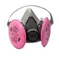 3M - 07001 - Half Facepiece Respirator Assembly 6291/07002(AAD), Medium - 70070614436