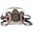 3M - 07024 - Half Facepiece Reusable Respirator 6100/07024(AAD) Small - 70070315539