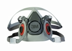3M - 07025 - 3M Half Facepiece Reusable Respirator 6200/07025(AAD), Respiratory Protection, Medium