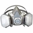 3M - 07192 - Dual Cartridge Respirator Assembly