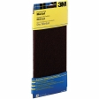 3M - 07414 - 7414NA Hand Sanding Metal Finishing Pad, 4.375 in x 11 in, Maroon Medium - 70070673275