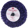 3M - 07470 - Scotch-Brite Roloc+ Clean and Strip XT Disc PN, 4 in x 1/2 in S XCS