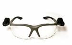 3M - 11476 - Light Vision 2 Protective Eyewear 11476-00000-10 Clear Anti-Fog Lens, Gray Frame, Lights - 70071539962