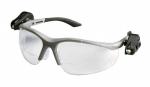 3M - 11478 - Light Vision 2 Protective Eyewear 11478-00000-10 Clear Anti-Fog Lens,, Gray Frame, +2.0 Diopt - 70071539988