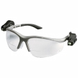 3M - 11479 - Light Vision 2 Protective Eyewear, Clear Anti-Fog Lens, Gray Frame, +2.5 Diopt