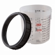 3M - 16001 - PPS Mixing Cup and Collar, Standard, 20 ounce (600 mL)