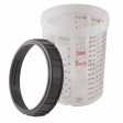 3M - 16023 - PPS Cup and Collar, Large, 28 ounce (828 mL)