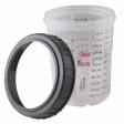 3M - 16115 - Mini Cups & Collars, 6 ounce (177 mL)
