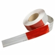 3M - 22495 - Flexible Prismatic Conspicuity Marking Series 963-32 DOT Red/White, (2 inch x 18 inch cuts), 2 inch x 50 yard