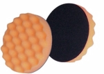 3M - 2648 - Finesse-it Buffing Pad 51151, 3-1/4 in Orange Foam White Loop - 60980107258