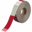 3M - 31015 - 3M Diamond Grade Conspicuity Marking 983-326 ES, alternating six-inch red and white bands, (2 inch width x 24 inch cut), 2 inch x 50 yard