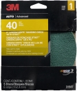 3M - 31547 - Green Corps Sanding Disc, 31547, 6 in, 40 grit