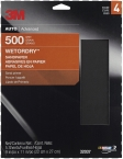 3M - 32037 - Wetordry Sheet, P500 Grit