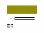 3M - 68703 - Scotchcal Striping Tape, Gold, 1/4 in x 150 ft - 75346843644