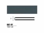 3M - 68797 - Scotchcal Striping Tape, Medium Dark Gray, 1/4 in x 150 ft - 75346843776