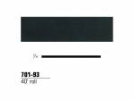 3M - 70193 - Scotchcal Striping Tape, 1/16 inch, Low Gloss Black, 70193