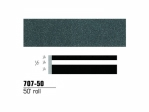 3M - 70750 - Scotchcal Striping Tape, 1/2 inch, Light Charcoal Metallic