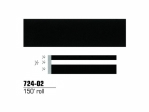 3M - 724-02 - Scotchcal Striping Tape 72402, Black, 1/2 in x 150 ft