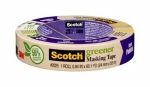 3M - 87017 - Scotch Greener Masking Tape for Basic Painting 2025-24C, .94 in x 60.1 yd (24 mm x 55 m) - 70005139228