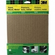 3M - 9005NA - 9-Inch by 11-Inch Aluminum Oxide Sandpaper, Assorted