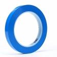 3M - 92385 - 471 Vinyl Tape Blue, 1/8 in x 36 yd 5.2 mil - 70006709748