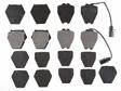 Raybestos - PGD912M - Disc Brake Pad Set